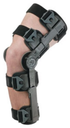 T-Scope ROM Post Op Hinged Knee Brace, Universal XL w/Full Foam Padding ()