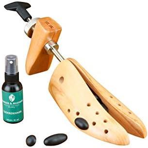 Langer /& Messmer civi/ère de bottes en bois de h/être pour hommes incl civi/ère en cuir