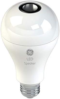 LED+ Speaker Light Bulb, Bluetooth Light Bulbs with Speaker, A100, 100-Watt  Replacement, Soft White, Linkable Bluetooth Speaker Light Bulb, 10-pack