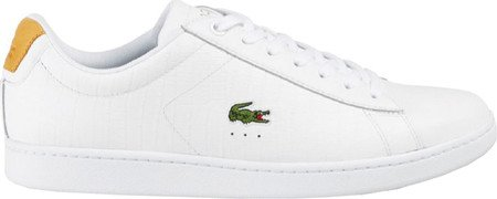 Lacoste Heren Carnaby Evo G117 1 Sneaker Wit / Bruin