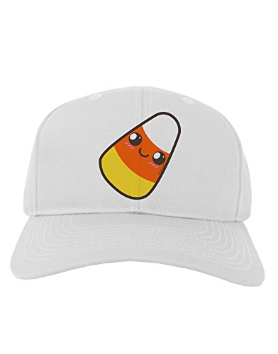 - Cute Mother Candy Corn Family Halloween Adult Baseball Cap Hat - White