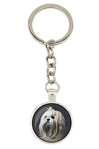 Lhasa Apso Dog Photo (Lhasa Apso, Dog pendant for dog lovers, Photo-Jewelry, Handmade)