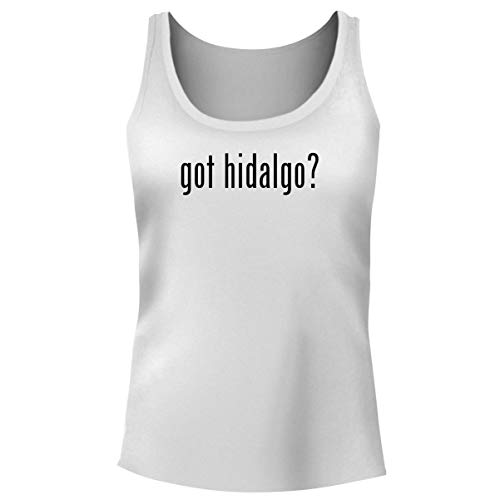 One Legging it Around got Hidalgo? - Women's Funny Soft Tank Top, White, XX-Large