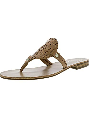 Jack Rogers Women's Georgica Sandal Flat, Buff 8 Medium for sale  Delivered anywhere in USA