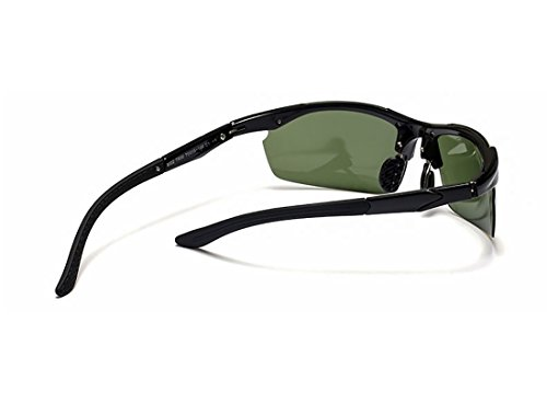 negro de Gafas al Deportivas Polarizado Libre Deportes MAX PC Marco Surface Amarillo Aire anti TR90 Lente UV400 xXAEwayOqy