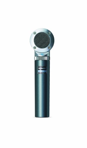 (Shure BETA 181/S Ultra-Compact Side-Address Instrument Microphone with Supercardioid Polar Pattern Capsule)