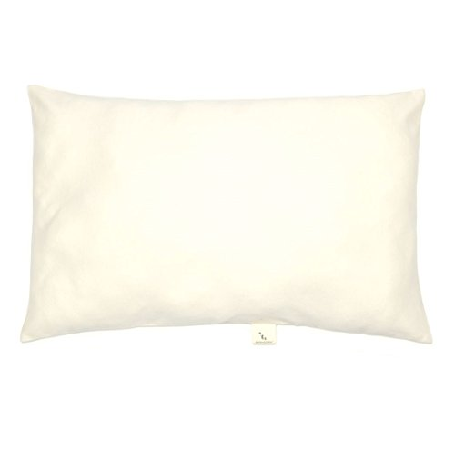 DorDor & GorGor Ultra-Soft Toddler Pillowcase with Organic Cotton, Hypoallergenic, 14 X 20 inches, Non-Chemical, Non-Pesticide, Non-GMO, Non-Dyes, GOTS Certified 100% Cotton