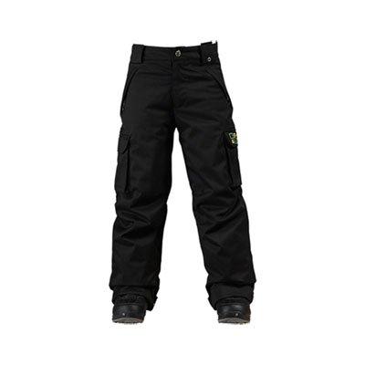 Burton Boys Exile Cargo Pant Med Black by Burton