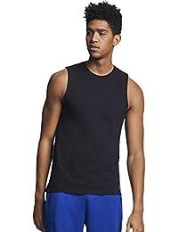Men's Cotton Performance Sleeveless Muscle T-shirt