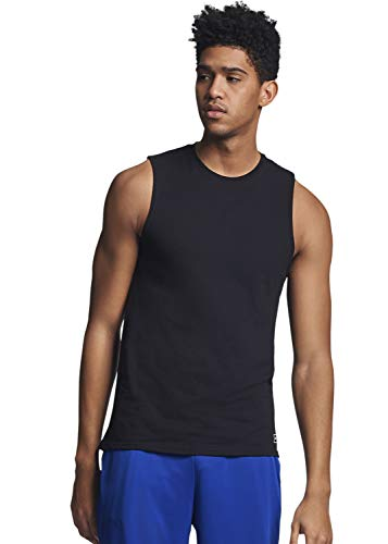 Russell Athletic Men's Essential Muscle T-Shirt,Black,XX-Large ()