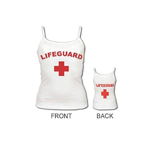 Women White Lifeguard Tank (Lifeguard Tank)