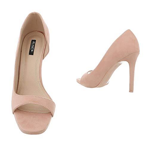 design Ital Zapatos G70270 Tacón Altrosa Con Mujer ddrnwxqHO