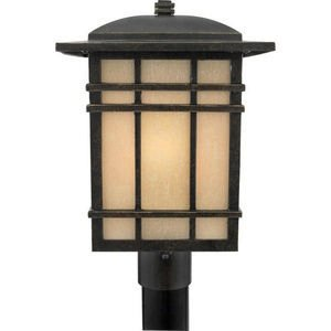 Quoizel HC9011IB 1-Light Hillcrest Outdoor Lantern in Imperial Bronze