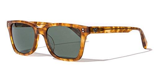 Stussy Angelo Sunglasses Tortoise / Green Glass by Stussy Eyegear