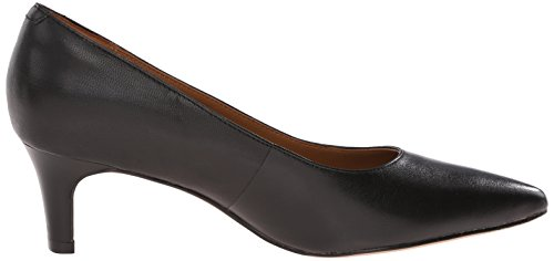 Leather Wick Pumps Crewso Black Clarks Women's 1EBqXX
