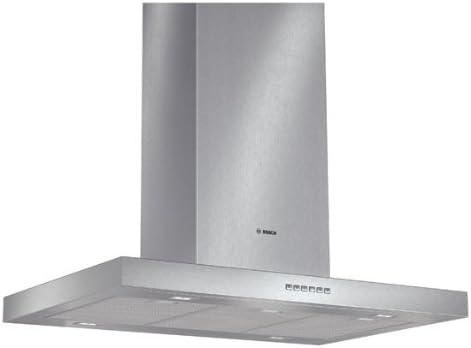 Bosch DIB097A50 - Campana (Canalizado/Recirculación, 740 m³/h, 38 Db, Isla, LED, Acero inoxidable): 521.55: Amazon.es: Grandes electrodomésticos