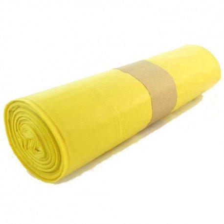YMBERSA Rollo Bolsa Basura Amarilla 32 litros. Resistente y ...