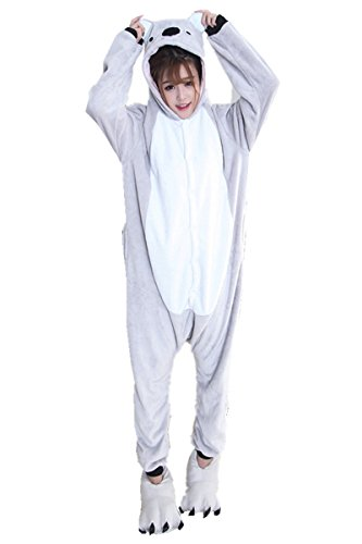 Cheap Womens Costumes Australia (Koala Kigurumi One Piece Halloween Costumes Cosplay Pajamas XL)