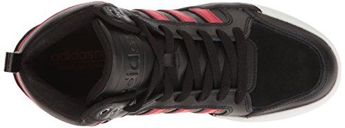 Chaussure De Basket-ball Adidas Neo Mens Raleigh 9tis Mid Noir / Toro / Noir