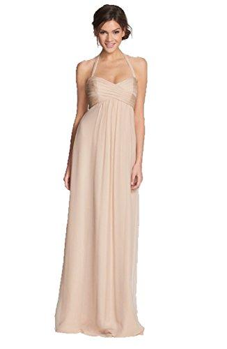 Amsale-Chiffon-Halter-Gown-For-Women-In-Blush-10
