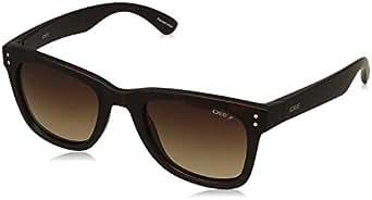 IDEE Polarized Square Unisex Sunglasses - (IDS2442C7PSG|51|Brown Gradient Color Lens)