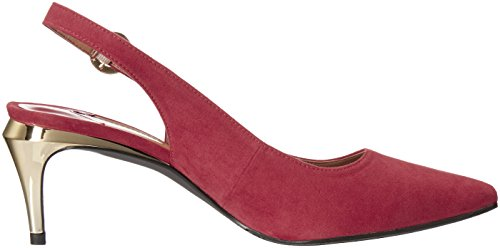 Suede Pump J Renee Pearla Dress Donna Red vx8v0SqTn