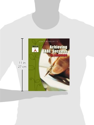 Achieving TABE Success In Language, Level A Workbook (Achieving TABE Success for TABE 9 & 10)