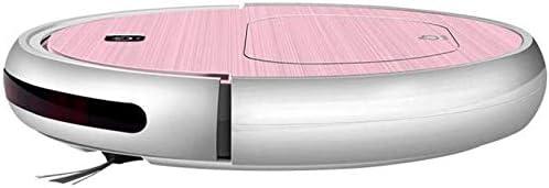 Robot de nettoyage Balayer Robot Nettoyeur Intelligent aspirateur domestique balayage glisser aspiration machine, Orange KaiKai (Color : Orange) Pink