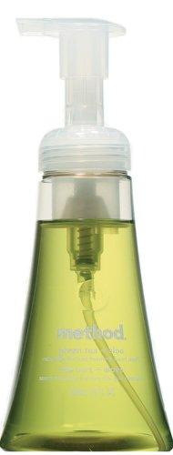 Method Foaming Hand Wash, Green Tea Aloe Foam, 10 oz Bottle