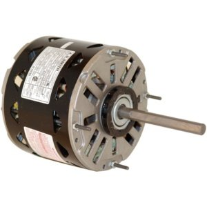 Motor, PSC, 1/3 HP, 1075, 208-230V, 48Y, OAO from Century