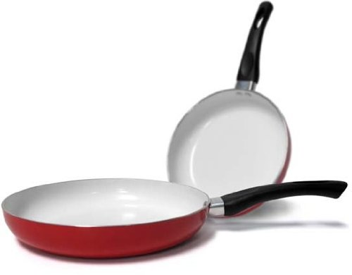 Healthy Nonstick Ceramic Coated Frying Pan - 10'' Eco Friendly Durable Fry Pan