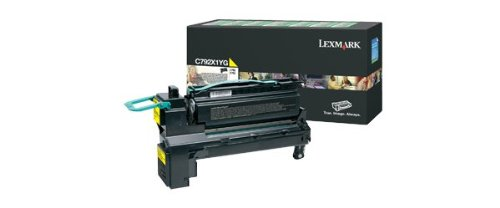 Lexmark C792X1YG Extra High Yield Return Program Toner -