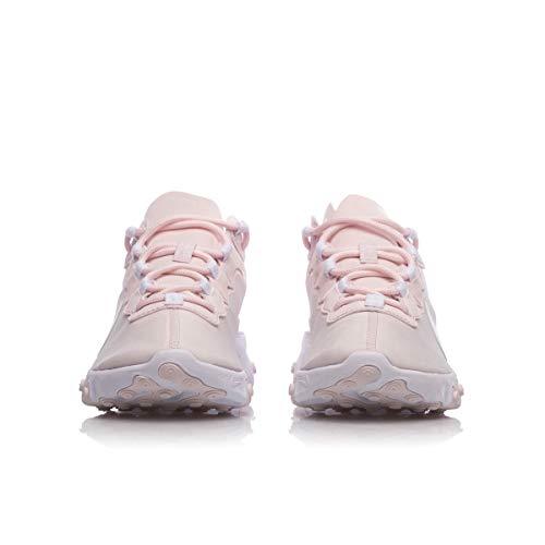 Rosa 55 Atletica React Da Scarpe 600 Nike Pallido W Donna Leggera Element bianco xRUqHf