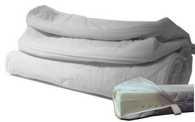 Funda colchón tejido doble de repuesto para colchones con núcleo de 16 cm Altura, 90 x 200 xm: Amazon.es: Hogar