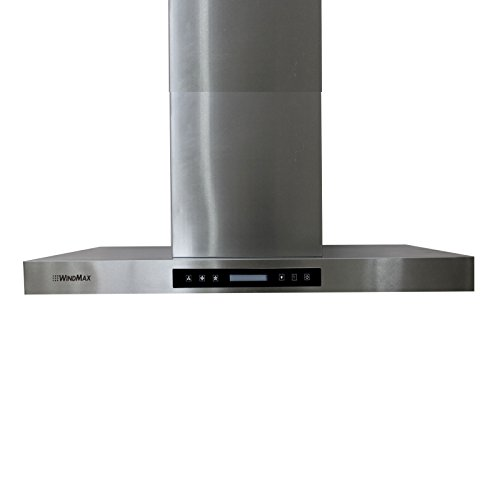900mm Width 36 Quot Stainless Steel Island Chimney Mount Vents
