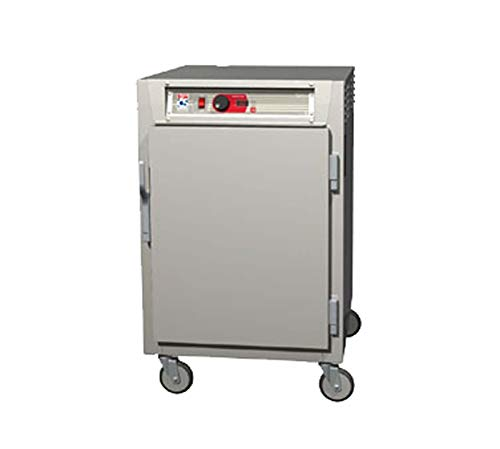 - Metro C585-SFS-UPFC C5 8 Series Pass-Thru Heated Holding Cabinet, 1/2 Height, Stainless Steel, Full Length Solid Door/Full Length Clear Door, Universal Wire Slides