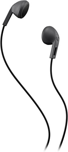 Skullcandy Rail S2LEZ-J567 In Ear Wired Earphones Without Mic(Black Charcoal)