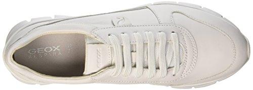 D Zapatillas Blanco Geox Sukie Whitec1001 Mujer A HdqxwS