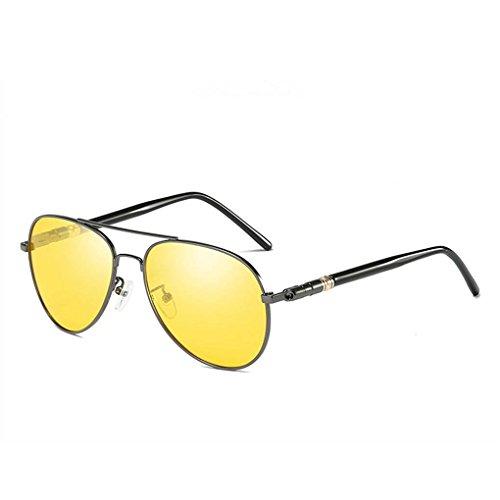 de anteojos deslumbramiento sol 6 de completa Hombres protección barrera UV400 gafas conducción anteojos Eyewear polarizado Coolsir gxtAFqf6