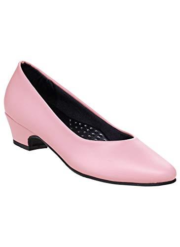 AngelSteps Women's Adult Amelia Pump Synthetic Pumps Shoes Dress Shoes 9 Wide US - Angels Soft Pumps