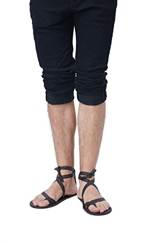 California Costumes Men's Egyptian Sandal, Brown, One -