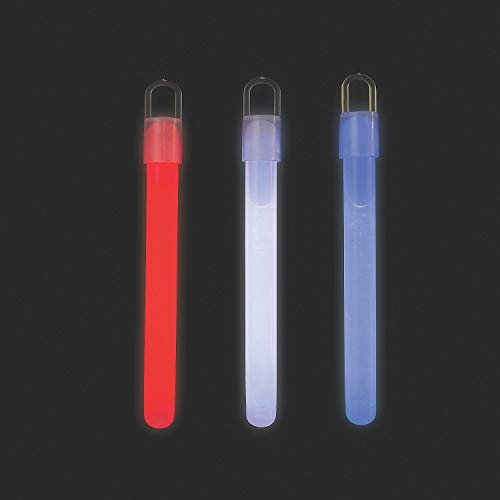 Fun Express - 50pc Patriotic Value Glow Stick for Fourth of July - Jewelry - Glow - Glow Sticks - Fourth of July - 50 Pieces]()