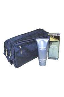 - Herrera Aqua by Carolina Herrera for Men - 2 Pc Gift Set 3.4oz EDT Spray, 3.4oz After Shave Balm