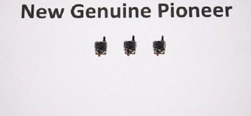 3x (Pieces) New Pioneer (TRAY-1 TRAY-2) Push Switch DSG1017 For models XR-P170T XR-P2000 XR-P250 XR-P260 XR-P270C XR-P350 XR-P350RDS XR-P360 XR-P370C by PIONEER_SERVICE_PARTS