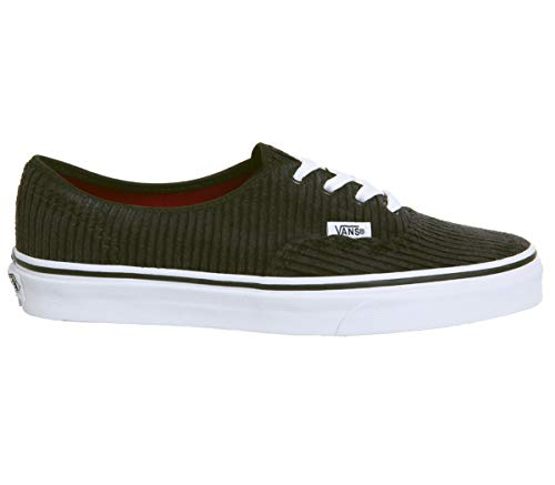 Vans - Zapatillas de deporte de ante unisex (Design Assembly) Black/True White