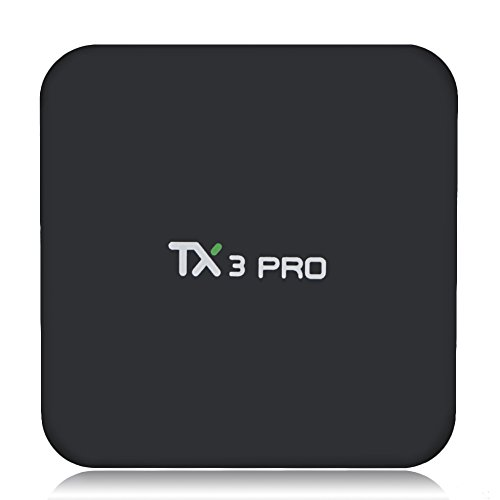 Mifanstech TX3 PRO Android 6.0 Marshmallow Amlogic S905X VP9 HDR 4K H.265 64BIT TV BOX 1G 8G