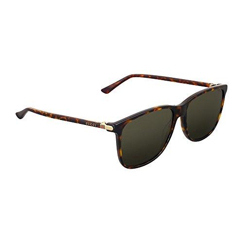Gucci Dark Havana Square - Gucci Dark Havana Sunglasses