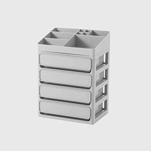 XWYSSH主催 化粧品収納ボックス多層プラスチックメイクボックスボックスメイクアップ化粧品引き出し収納ボックスジュエリーボックスオフィス XWYSSH