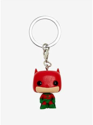 Pop! DC - Keychain Batman Holiday (Special Edition): Amazon ...