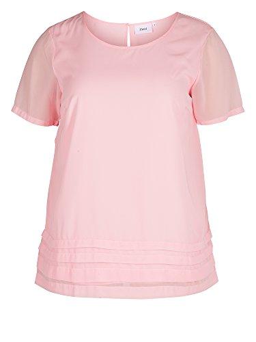 Zizzi Camiseta 2 en 1 tallas grandes Mujer rosa claro